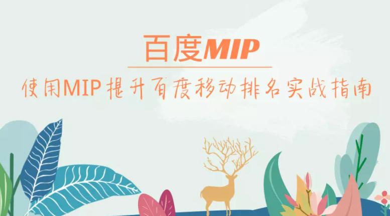 什么是百度MIP 如何通过百度MIP提升手机端排名?