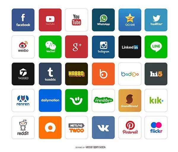 不同国家的外贸客户,他们都习惯用哪些社交软件?